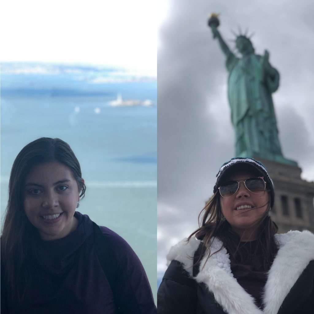 Momxious Statue of Liberty